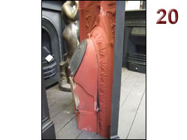 Fill below the vent/damper plate
