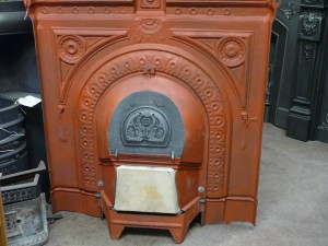 Red Oxide Painted Back