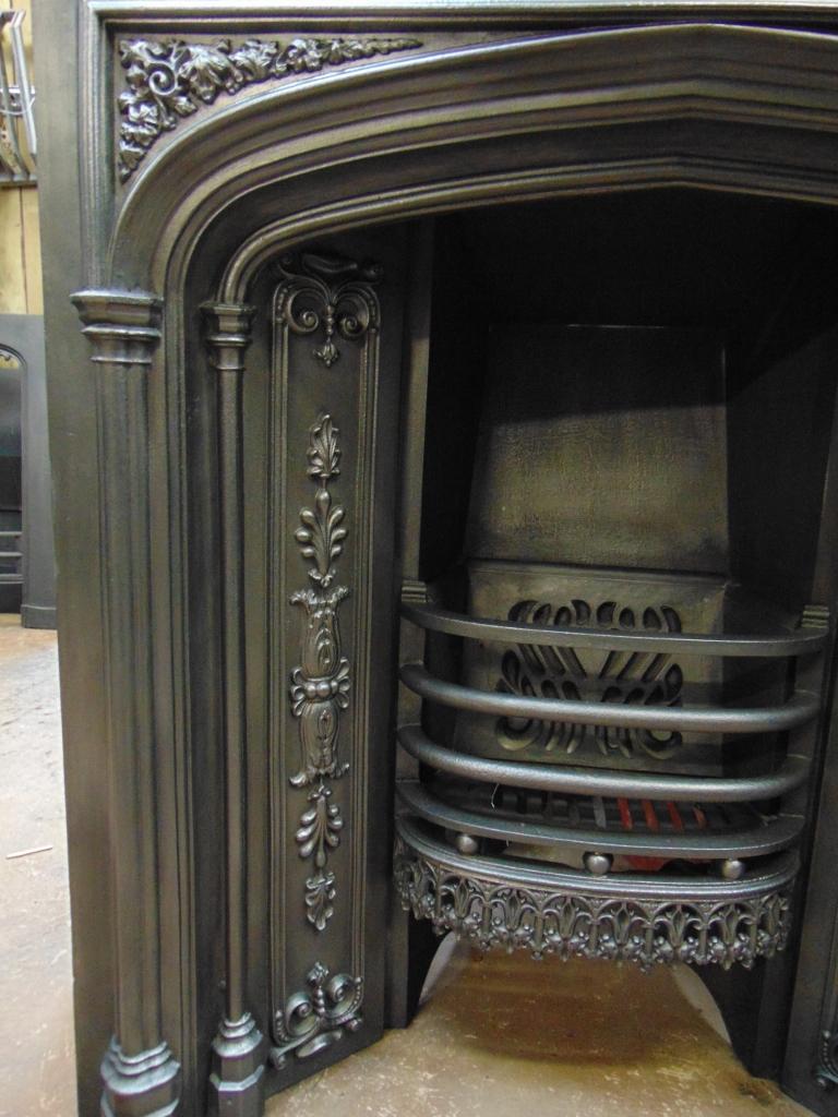 026I-188 - Original Regency Register Grate - Old Fireplaces