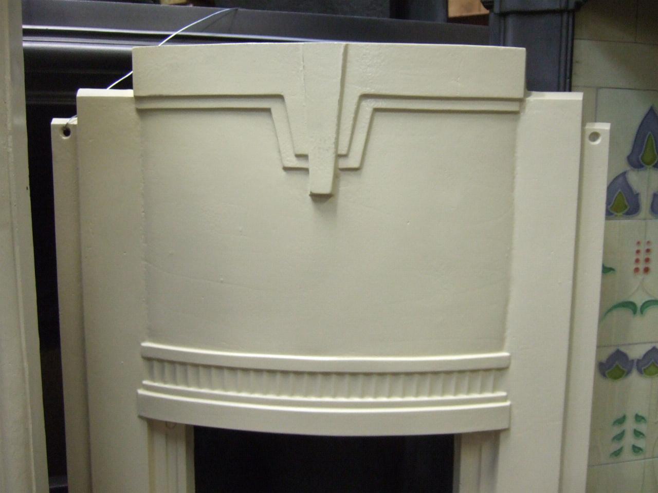 Original Art Deco Bedroom Fireplace Corby Northants