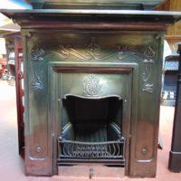075LC_1771_Antique_Art_Nouveau_Combination_Fireplace