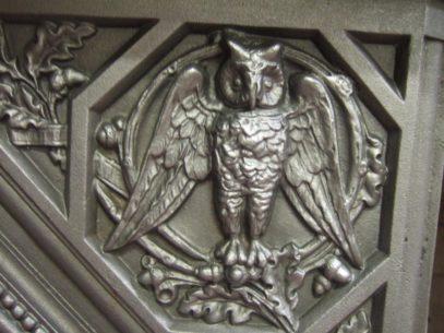 083MC - Arts & Crafts / Victorian Fireplace