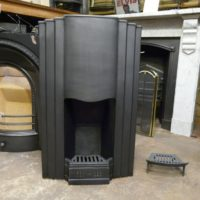 087-919 Art Deco Bedroom Fireplace