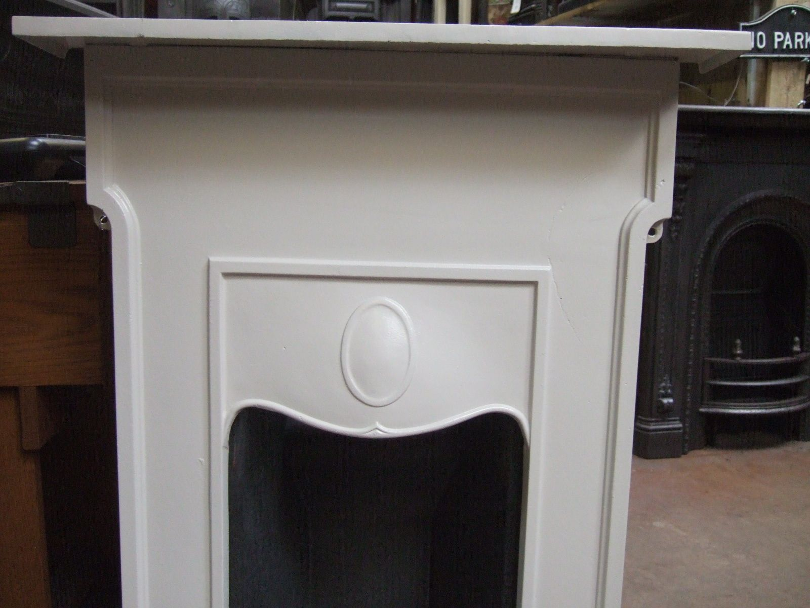 Original edwardian bedroom fireplace 101b old fireplaces for Bedroom electric fireplace