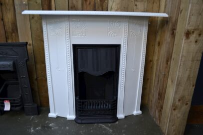 Arts & Crafts Cast Iron Fireplace 1040LC - Oldfireplaces