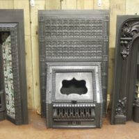 117I  - Victorian Fireplace Insert