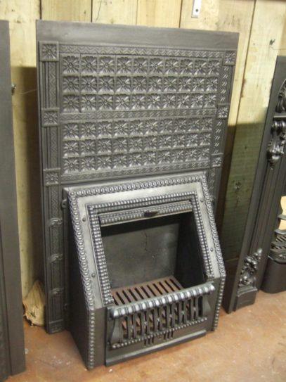 117I  - Victorian Fireplace Insert