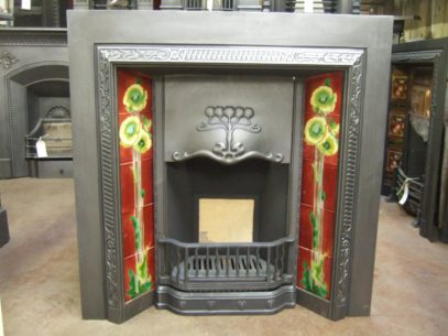 131TI - Art Nouveau Tiled Insert - Taunton
