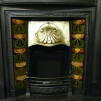 Edwardian_Art_Nouveau_Tiled_Insert_137TI