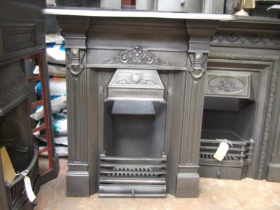 155MC - Victorian Cast Iron Fireplace - St Albans