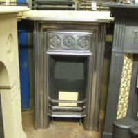 159MC - Antique Victorian Cast Iron Fireplace
