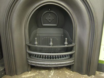 165AI - Early-Victorian Arched Insert
