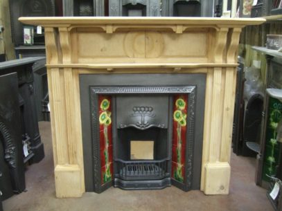 167WS - Late-Victorian / Early-Edwardian Pine Surround