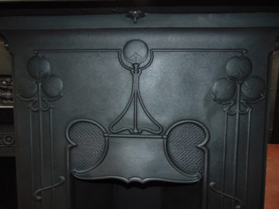 Original Art Nouveau Bedroom Fireplaces 1693B Old Fireplaces.