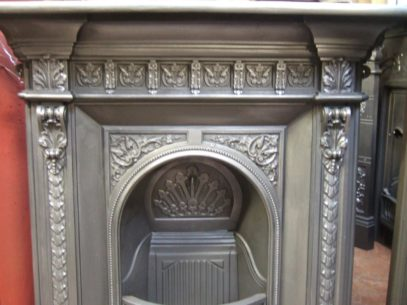 191MC - Victorian Cast Iron Fireplace - Southampton