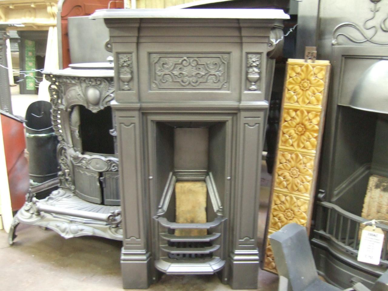 194b Victorian Bedroom Fireplace Cambridge Old
