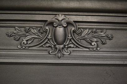 236LC_1916_Original_Victorian_Cast_Iron_Fireplace