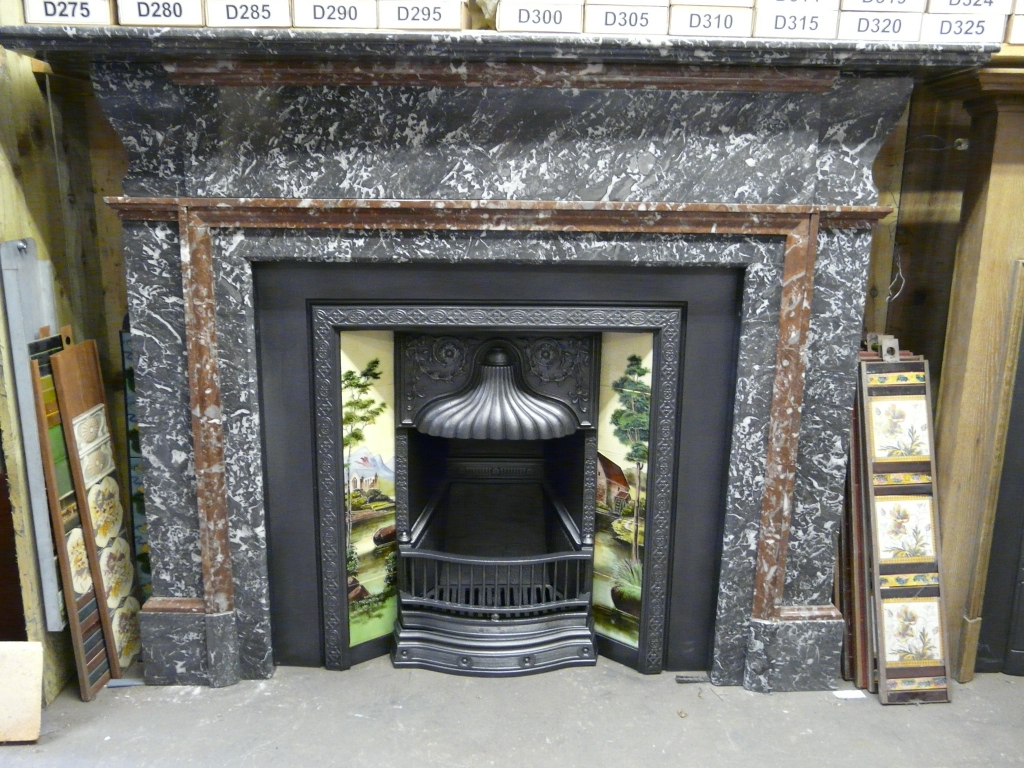 184ms Early Antique Victorian St Ann 39 S Marble Fireplace Surround Old Fireplaces