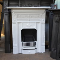 Art Nouveau Cast Iron Fireplace 238MC