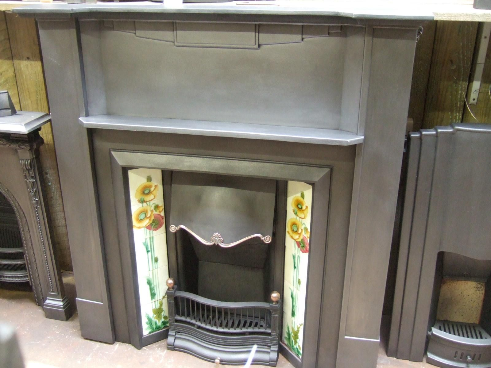 Art Deco Fireplace Surround 250cs Old Fireplaces