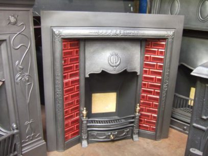 256TI - Edwardian Tiled Fireplace Insert