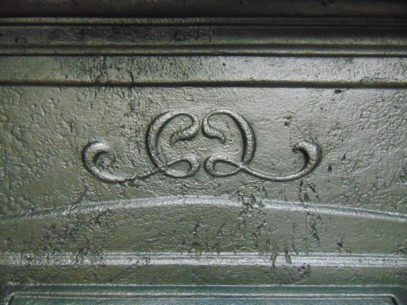 Antique Art Nouveau Bedroom Fireplace 326B Antique Fireplace Company