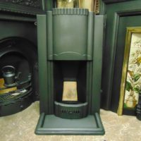 Original Art Deco Bedroom Fireplace 1729B Old Fireplaces.