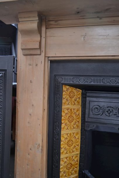 Rustic Victorian Pine Fire Surround 4029WS - Oldfireplaces