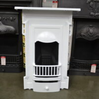 Edwardian Cast Iron Bedroom Fireplace 4041B - Oldfireplaces