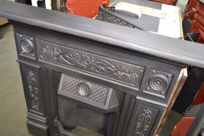 Original Victorian Combination Fireplace 4074LC - Oldfireplaces
