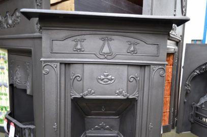 Art Nouveau Bedroom Fireplaces 621B - Oldfireplaces