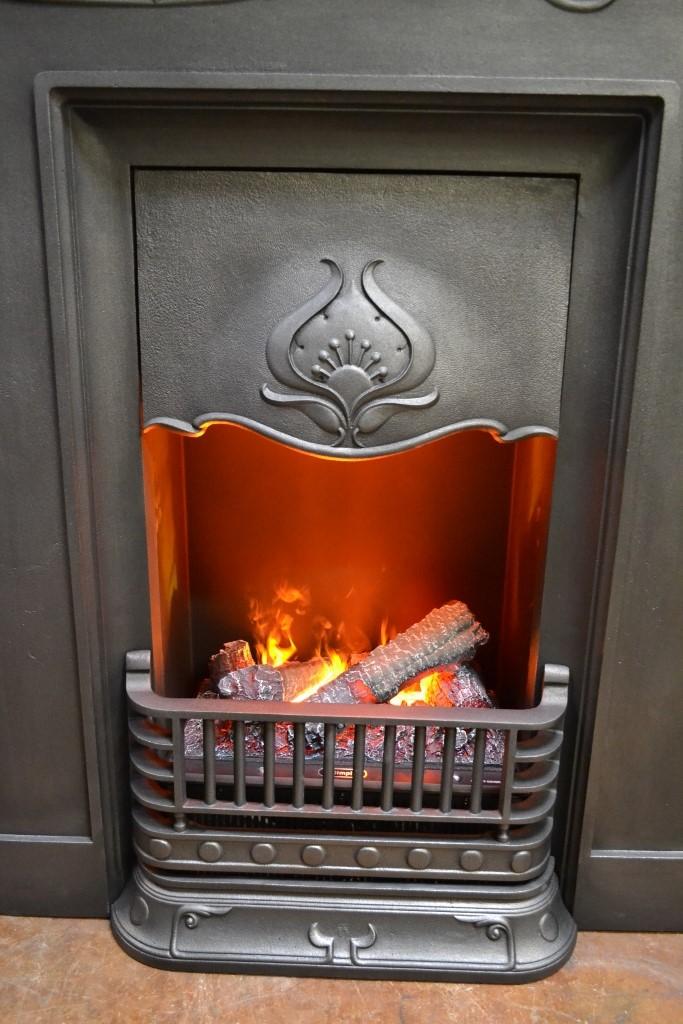 electric fires old fireplaces. Black Bedroom Furniture Sets. Home Design Ideas