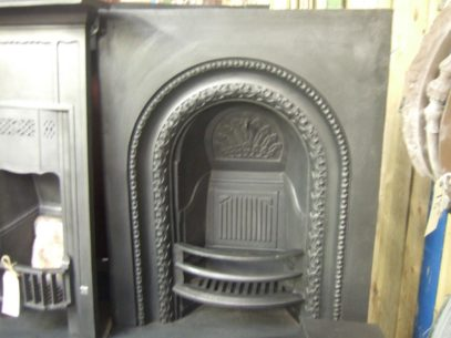 041AI - Early-Victorian Cast Iron Arched Insert