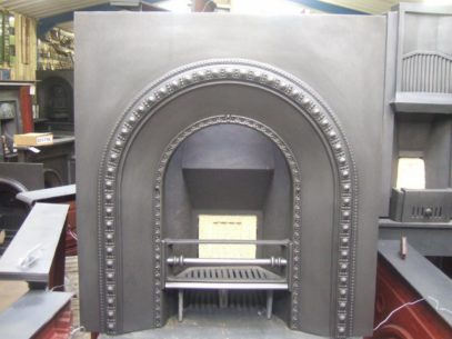050AI - Original Victorian Cast Iron Arched Insert