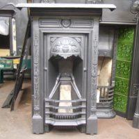 057B - Original Art Nouveau Bedroom Fireplace