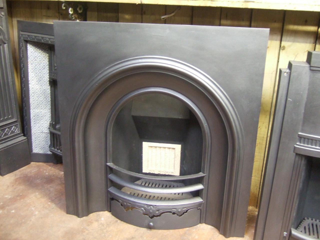 reclaimed early victorian arched insert 069ai old fireplaces