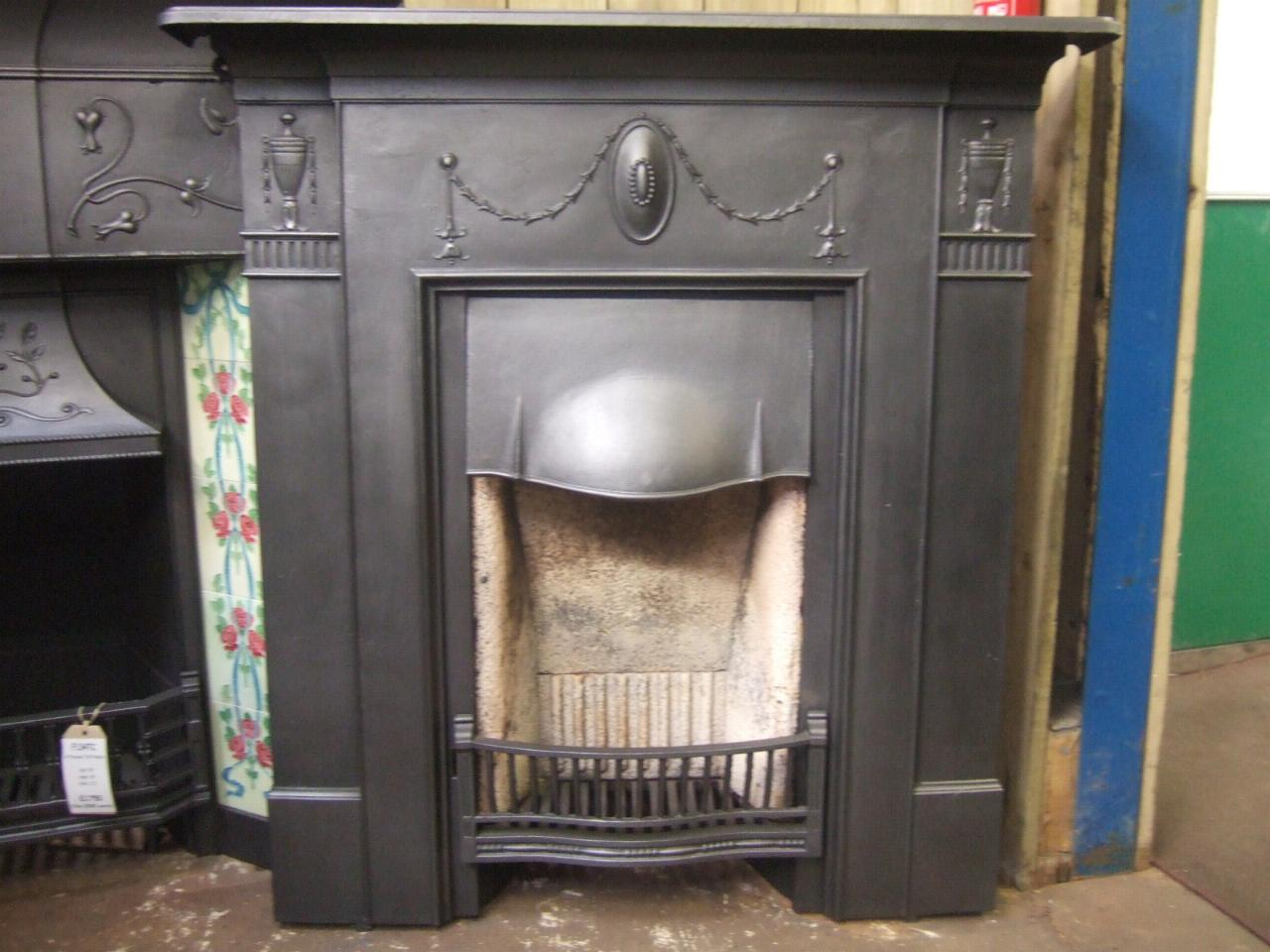cast iron victorian fireplace 077lc old fireplaces