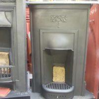 Simple Art Nouveau Bedroom Fireplace 538B Antique Fireplace Company