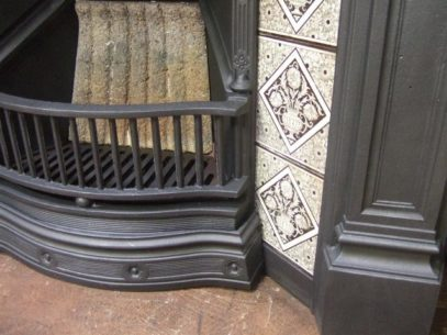 Victorian Tiled Combination Fireplace