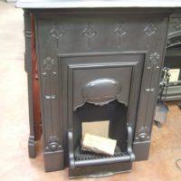 089MC - Reclaimed Art Nouveau Fireplace