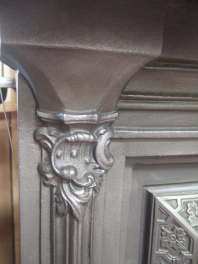 090CS - Early-Victorian Cast Iron Surround