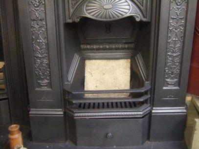 145MC -  Victorian Cast Iron Fireplace