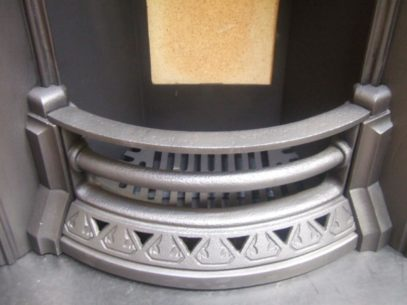 147AI - Victorian Cast Iron Arched Insert