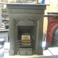 154B - Original Mid-Victorian Bedroom Fireplace