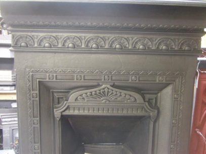154B - Original Mid-Victorian Bedroom Fireplace