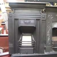161MC - Original Arts and Crafts Fireplace