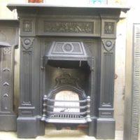 166MC - 'The Repton' Victorian Cast Iron Fireplace