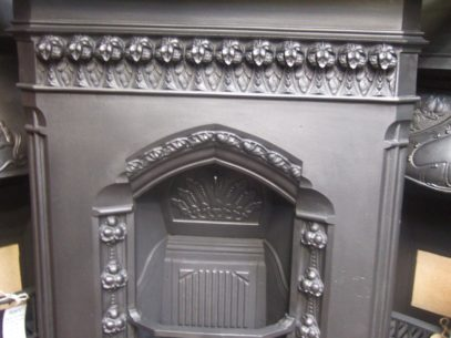 181LC - Reclaimed Victorian Combination Fireplace
