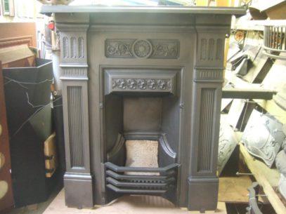 182MC - Victorian Cast Iron Fireplace