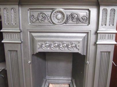 187B - Original Victorian Bedroom Fireplace